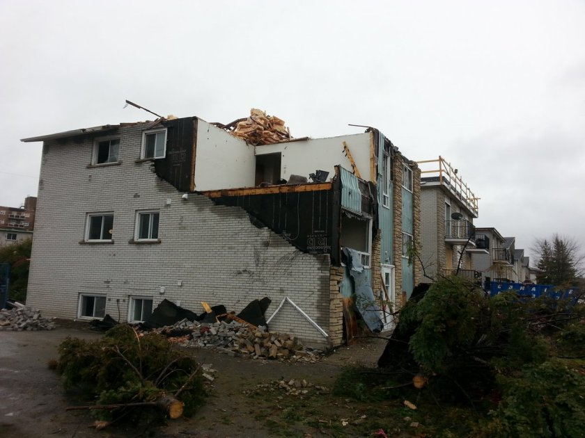 Ottawa tornado destruction